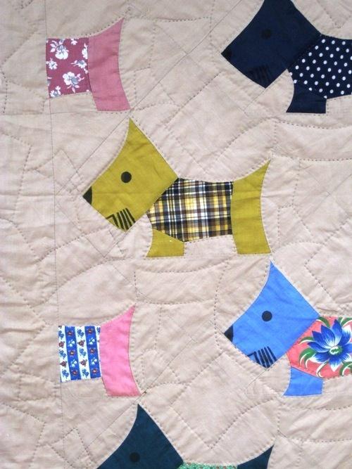 Quilt Pattern For Scottie Dog : Scottie Dog Quilt Goliath Pinterest