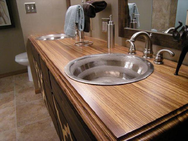 Bath Countertop Options : Cheap bathroom countertop ideas Bath Room Treatment Decor Pintere ...