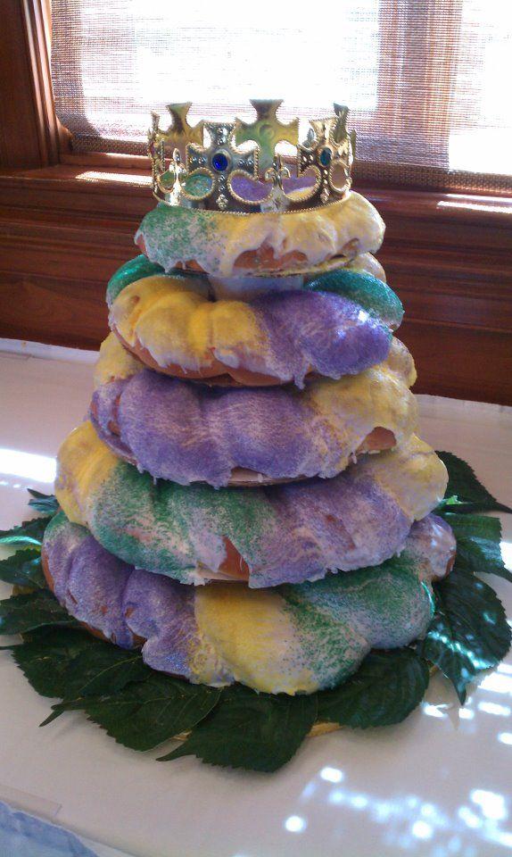 Ambrosia Bakery Baton Rouge King Cake