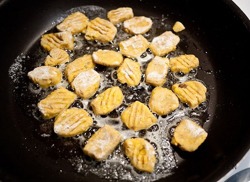pan fried gnocchi by tinyurbankitchen, via Flickr