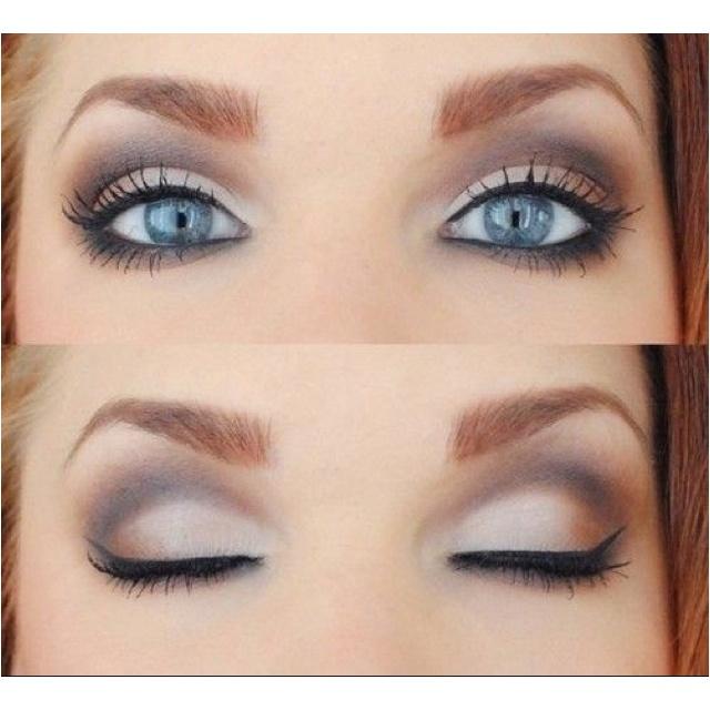 Light smokey eyes!   Hair and beauty   Pinterest