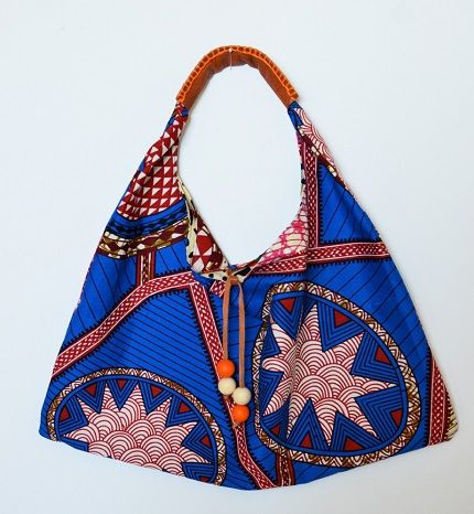 Free Pattern: Wax Print Hobo Bag BAG LADY Pinterest
