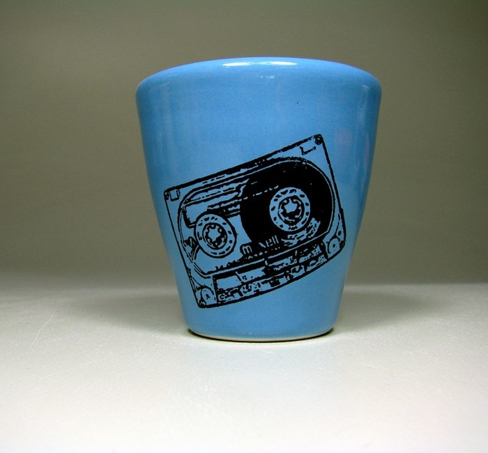 5oz tumbler mixtape (dodger blue) - Made to Order / Pick Your Colour