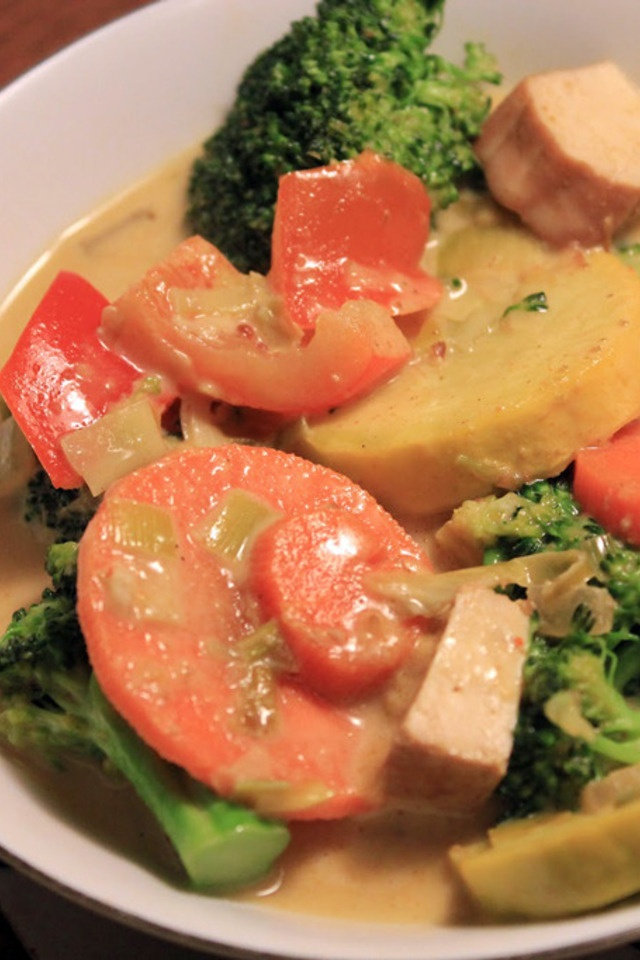 Vegetable Coconut Curry | food | Pinterest