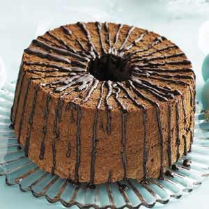 Chocolate Angel Food Cake low fat 6 Weight Watcher points per 1/12 ...