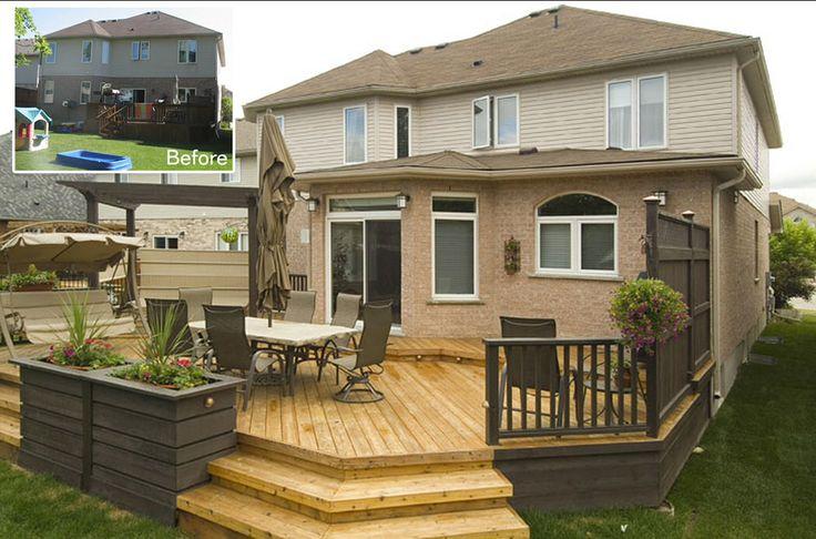 Tiered Backyard Decks : Tiered deck