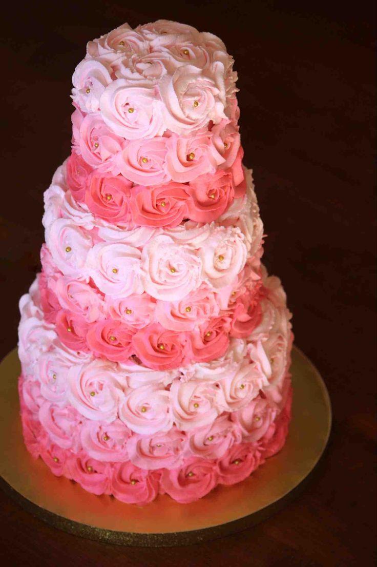 rosette birthday cakes