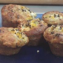 An exotic pumpkin and feta muffin recipe. Vicky cooks up a lip ...