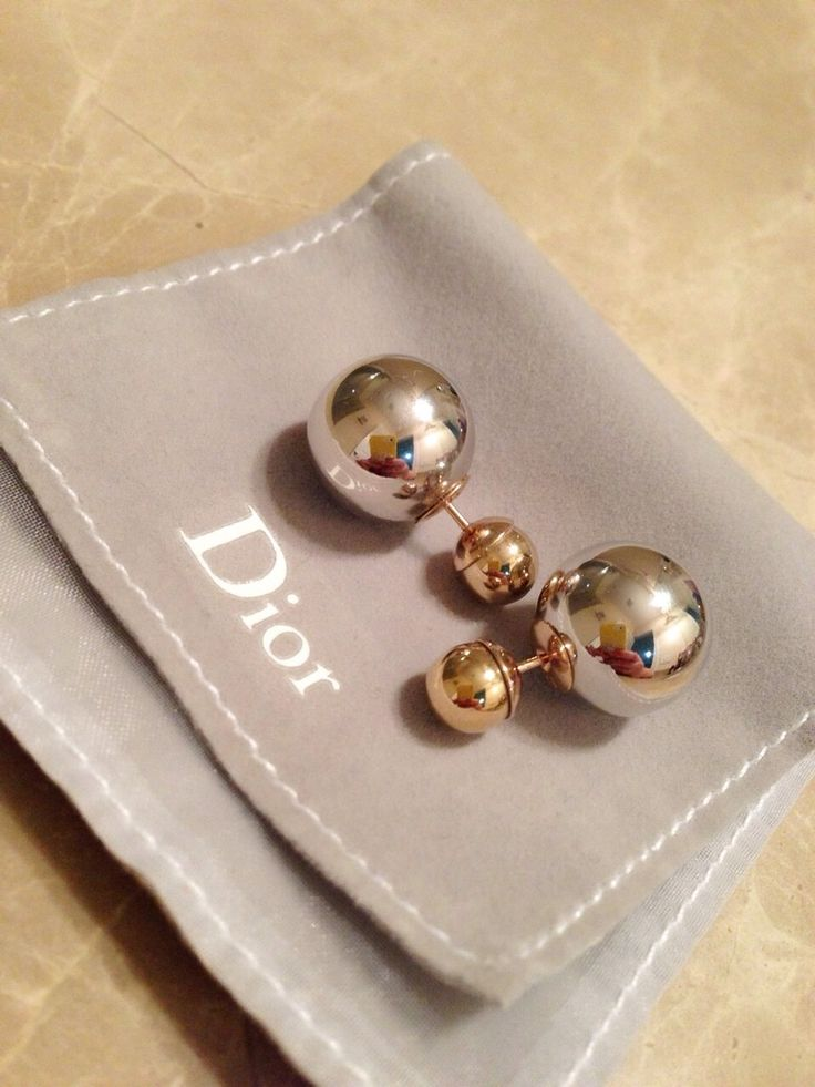 Dior Earrings on The Sentimentalist
