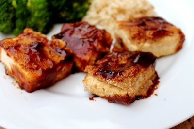 Breaded, Baked and BBQ'ed Tofu by Pursuit of Healthfulness
