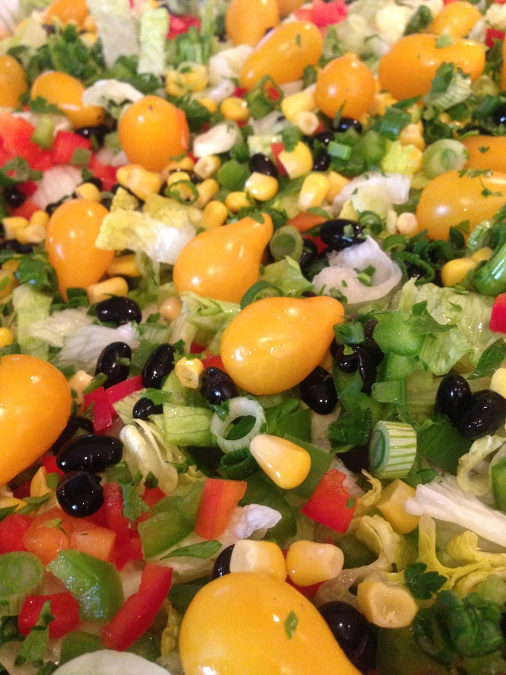 Southwestern Salad | The Burbank Caterers | Pinterest