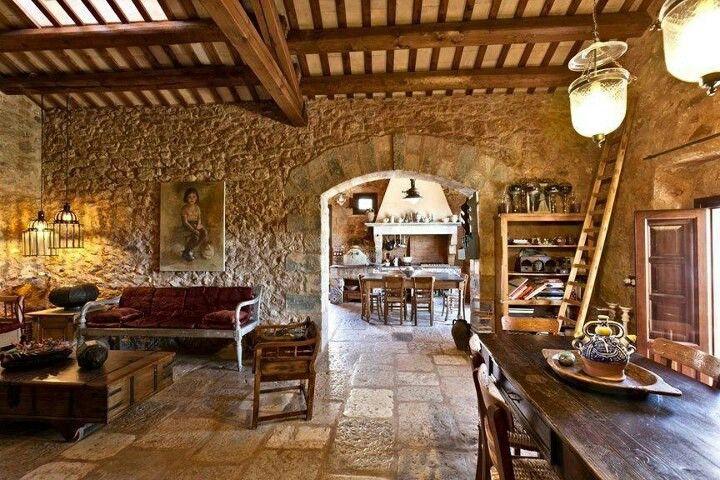 Tuscan farmhouse Dream Home