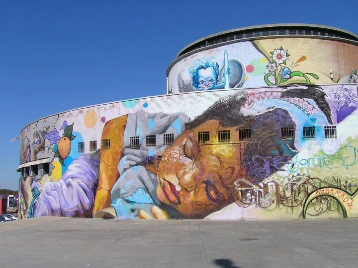 Graffiti at Sevilla, Spain