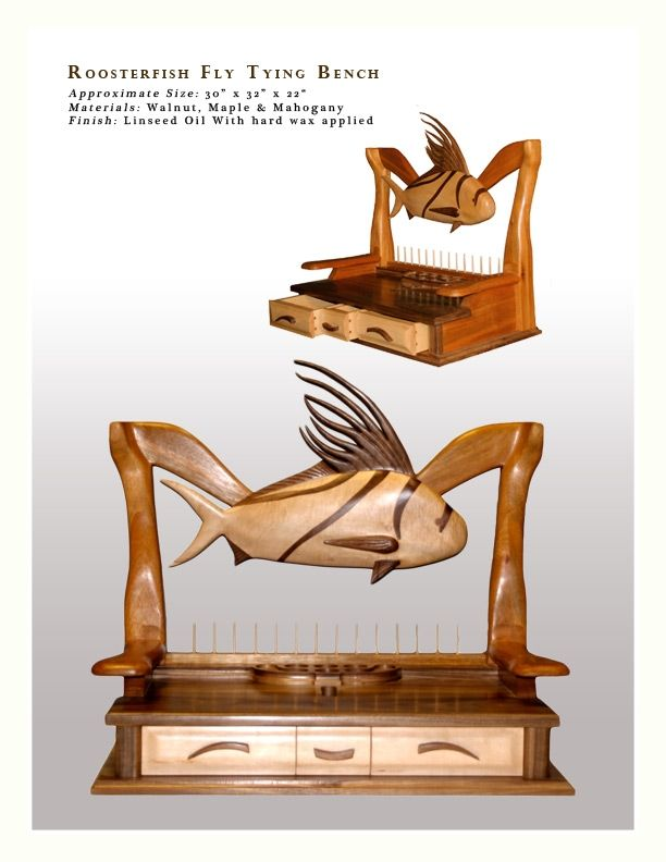 Roosterfish Fly Tying Bench Products I Love Pinterest