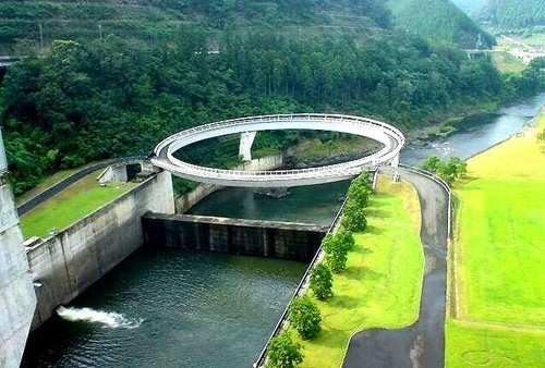 Nantan Japan  city photos gallery : Friendship Bridge: Nantan, Japan | Mega Structure | Pinterest