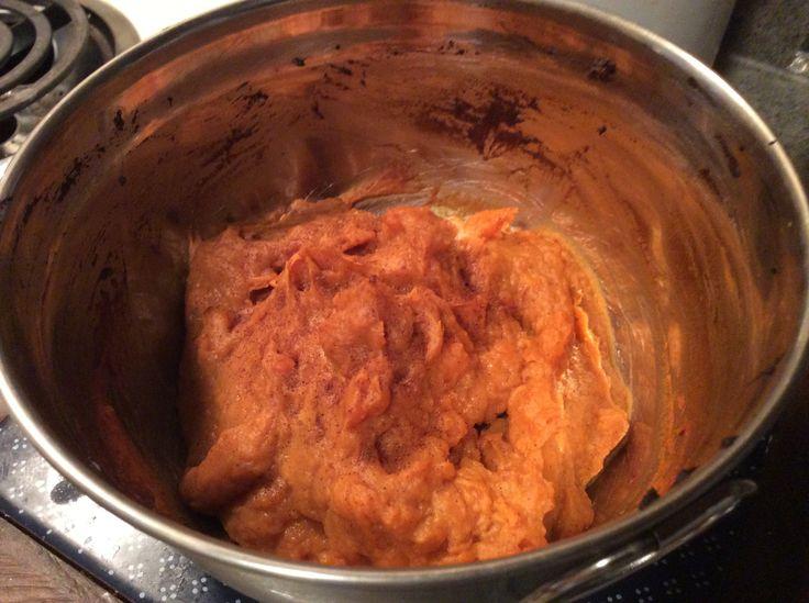 Pumpkin Pie Mashed Sweet Potatoes | Paleo | Pinterest