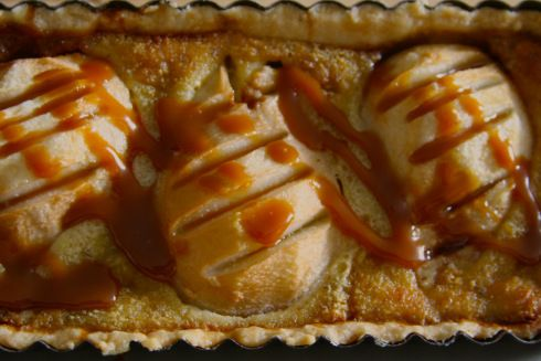 Salted caramel pear tart | Sweet Tooth | Pinterest
