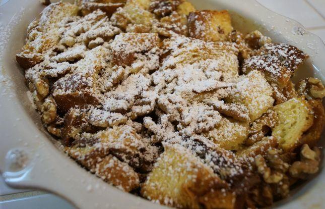 Nutella Bread Pudding | Yum | Pinterest