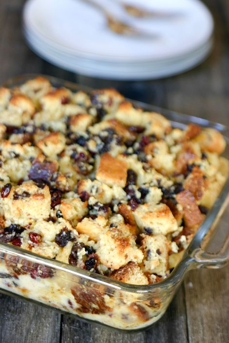 Panettone Eggnog Bread Pudding; I used store bought eggnog and a ...