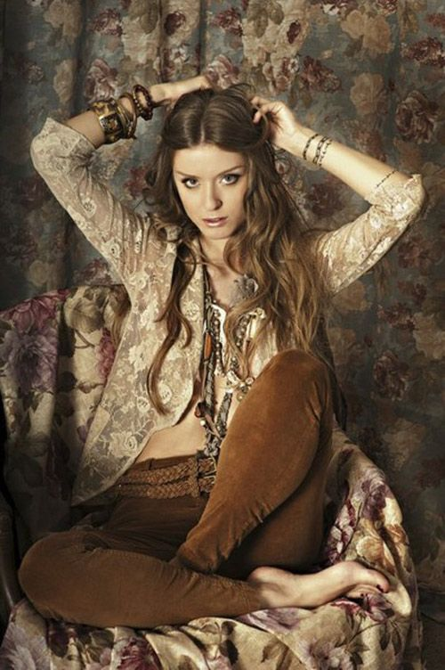 Romantic bohemian style my real style pinterest Bohemian fashion style pinterest