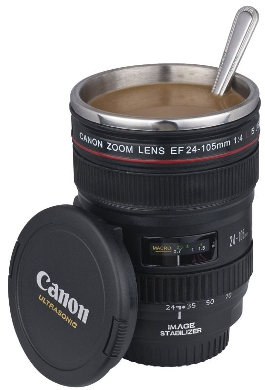 Canon Lens Camera 24 105mm Hotcold Coffee Tea Cup Mug 19
