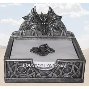 Dragon napkin holder decor kitchen haunt your house - Dragon decorations for a home ...