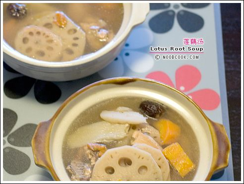 Lotus Root Soup (莲藕汤) | chinese soup recipes | Pinterest