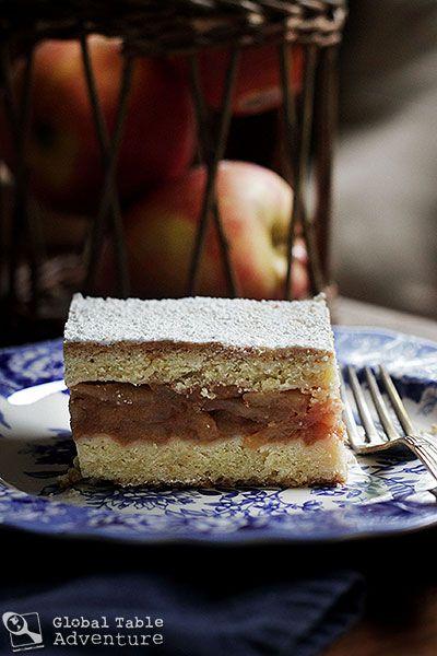 "... Adventure | Recipe: Polish Apple ""Pie"" | Szarlotka (with poll"