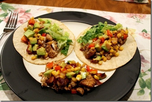 Tilapia tacos with roasted corn relish | Recipes | Pinterest