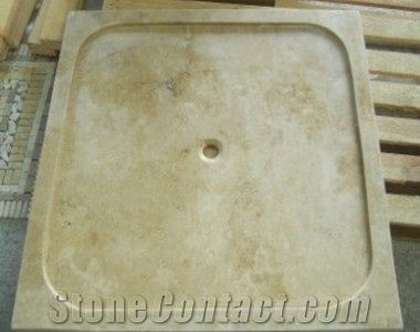 Pin By Reina Snyder On Showers With Travertine Tiles And