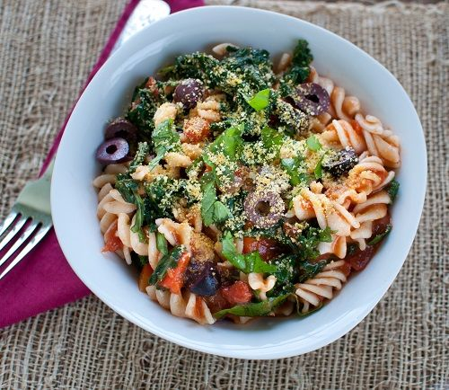 Kale-Powered Pasta, Peach & Blueberry Parfait, Smoky Split Pea Soup ...