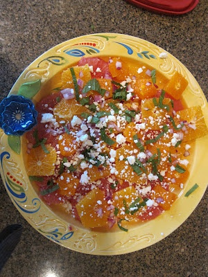 Michelle Gorham this is the citrus mint salad from last night. I am ...
