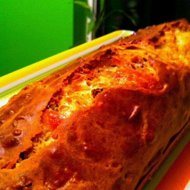Parmesan & sun dried tomatoes bread | Sun-Dried Tomato | Pinterest