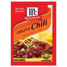 Copycat Recipe: McCormick Original Chili Seasoning Mix