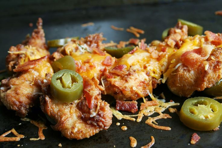 Bacon Jalapeno and Cheddar Jack Chicken Strips
