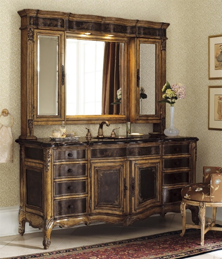 vanity cabinet sink pedestal Bathroom Pinterest