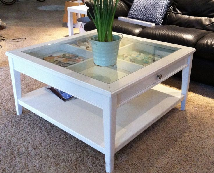 4 Sections Shadow Box Coffee Table Basin Harbor Club And Resort Pinterest