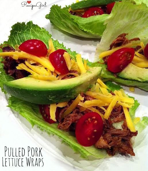 Pulled Pork Lettuce Wraps > sharing the perfect #recipe for Slow ...