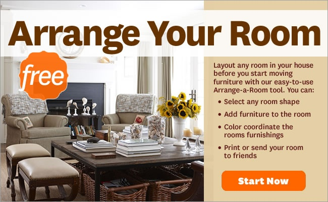 bhg room arranging tool for the home pinterest