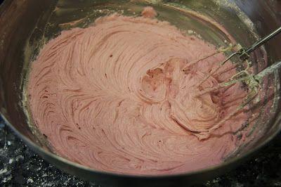 Basic Cherry Buttercream Recipe | My RecipeBook | Pinterest