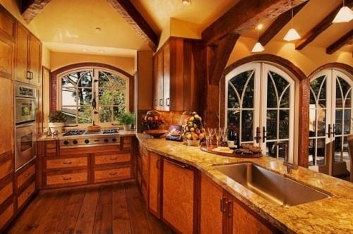 Tudor kitchen dream homes pinterest for Tudor kitchen design