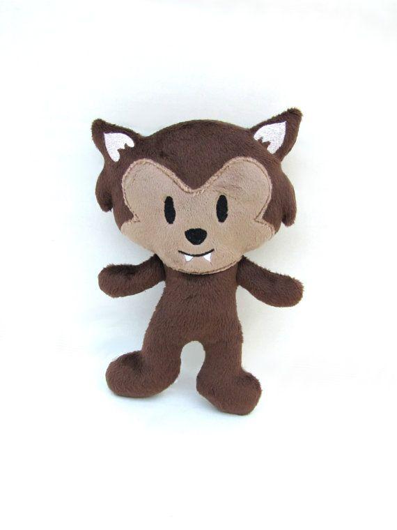 Werewolf Toys For Boys : Plush werewolf monster doll stuffed toy halloween sci fi gift
