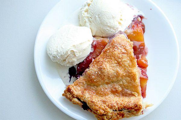 Peach Blueberry Pie | Food - Baking | Pinterest