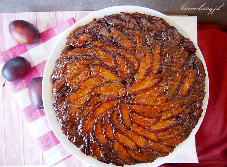 Upside Down Plum Cake | Baking | Pinterest