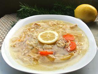 Crockpot Lemon Chicken Rice Soup | Gluten Free Isn't So Bad | Pintere ...