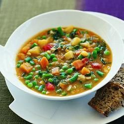 Hearty winter vegetable soup | Food | Pinterest