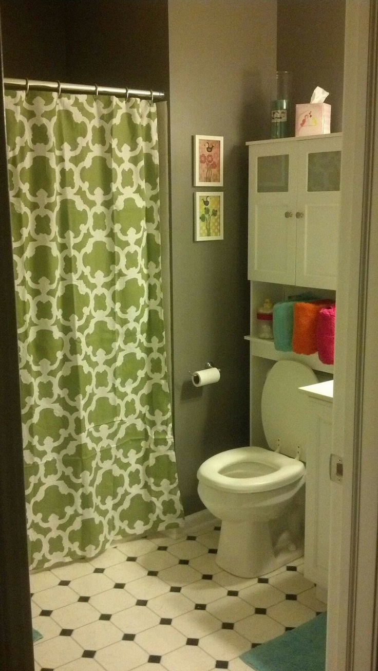 Kids Bathroom Makeover On A Budget Where The Heart Is Pinterest