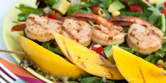 Shrimp Cocktail With Mango Avocado Salsa Recipes — Dishmaps