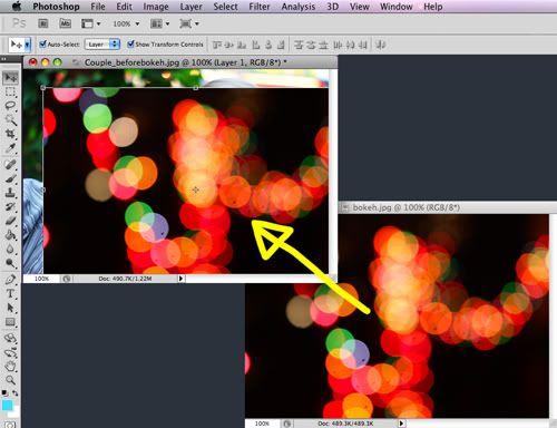 A Piece of Lisa: Photoshop Tutorial: Dreamy Bokeh Effect