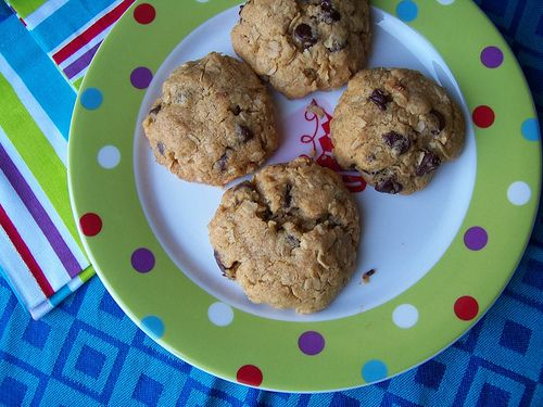 Whole-Wheat Chocolate Chip Oatmeal Cookie Recipe
